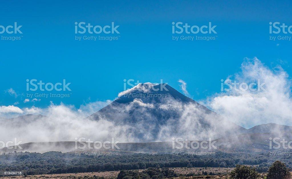 Mt Ngauruhoe stock photo