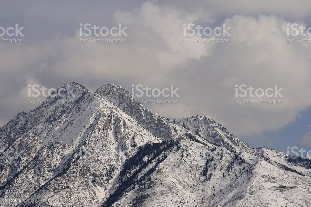 Mt. Olympus von Osten – Foto