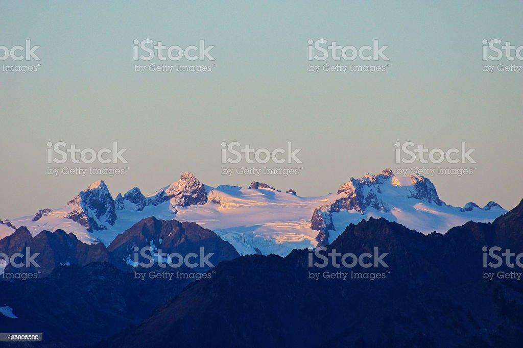 Mt. Olympus Purple stock photo