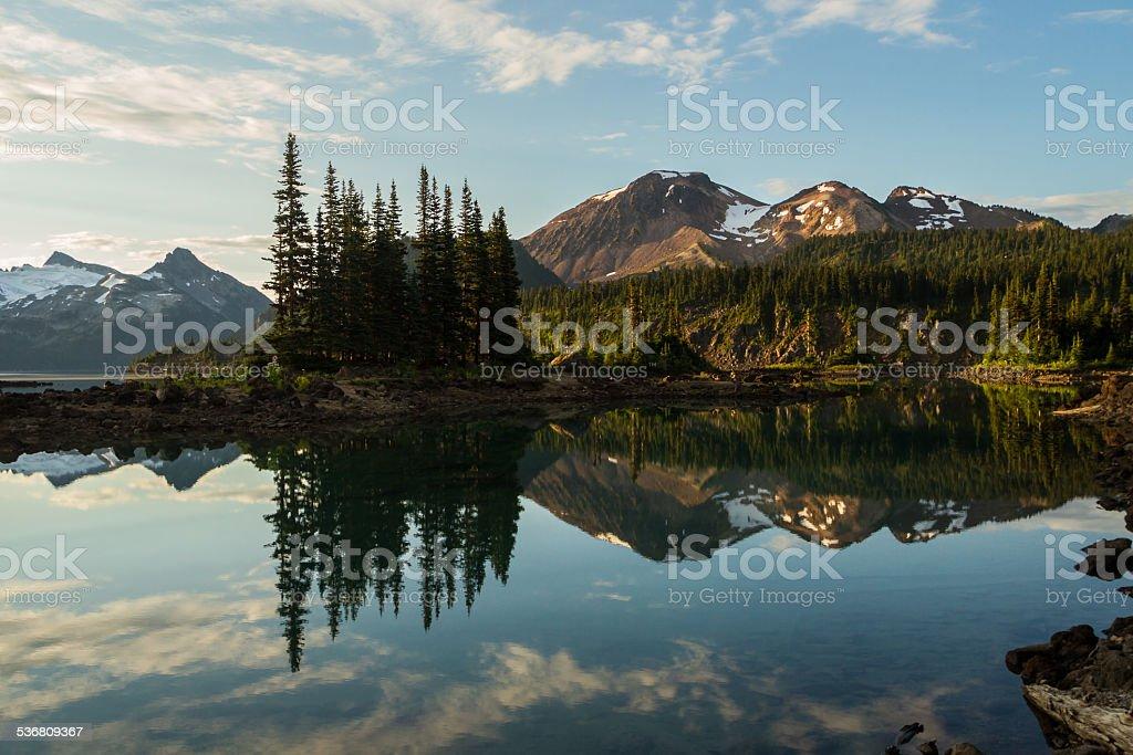 Mt. Price, in Garibaldi Provincial Park stock photo