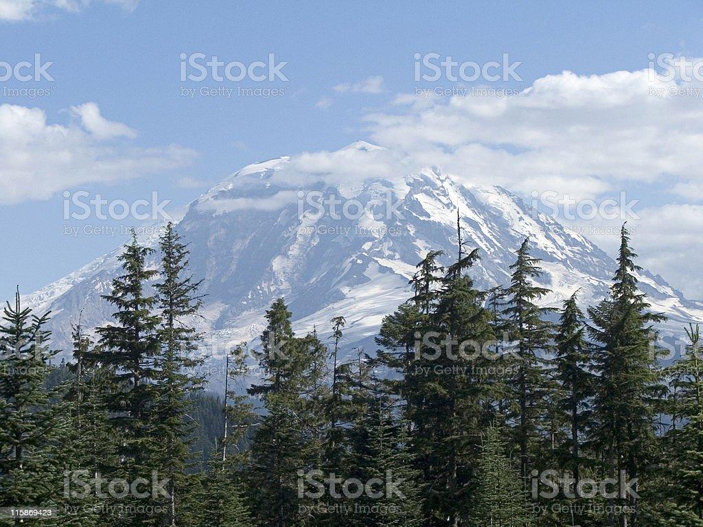 Mt. Rainier royalty-free stock photo