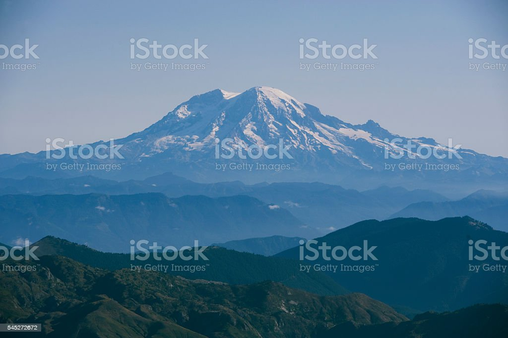 Mt, Rainier stock photo