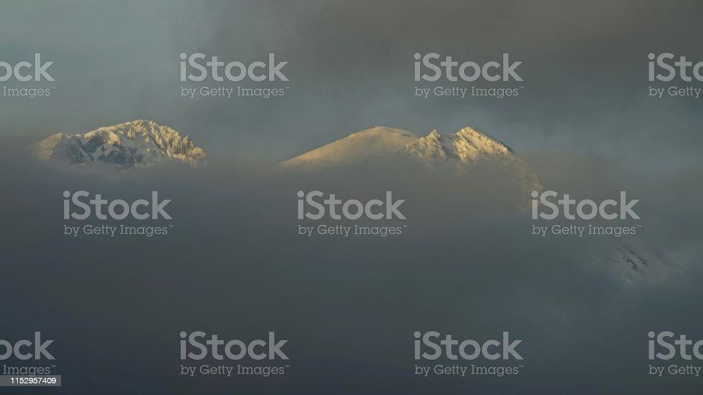 Central Washington\'s Cascade Range. Mt. Rainier National Park/SW...
