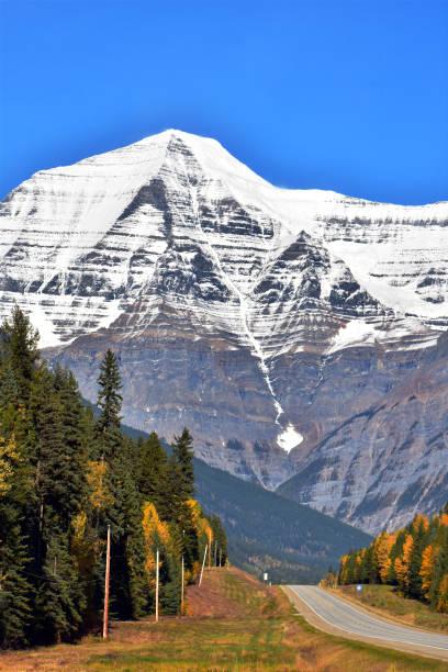 Mt. Robson, Jasper, Canada stock photo