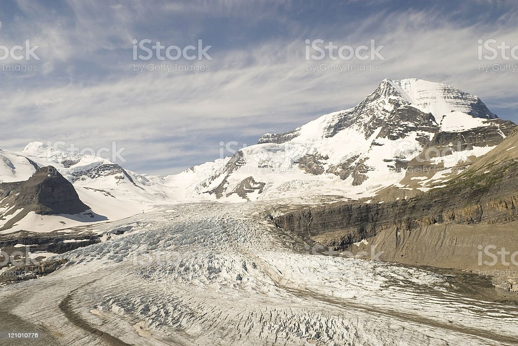 Mt. Robson royalty-free stock photo