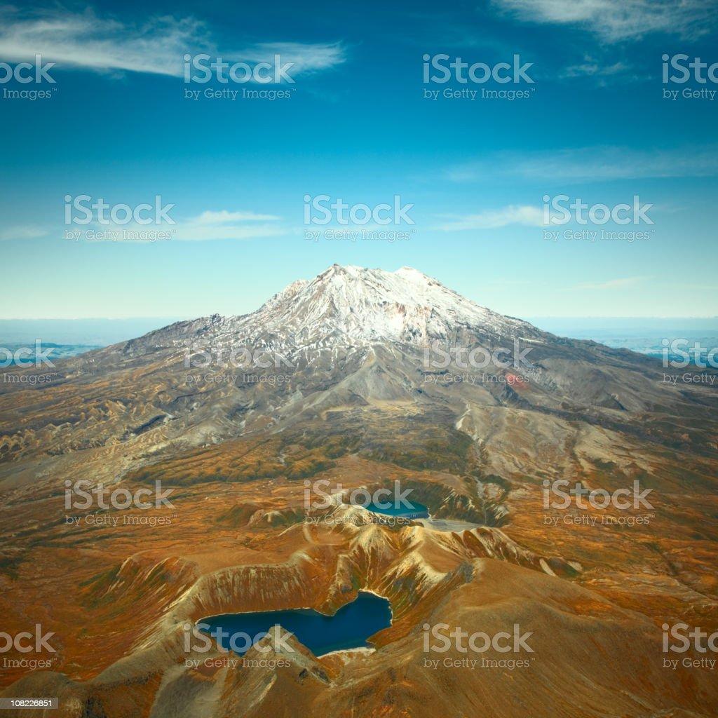 Mt Ruapehu stock photo