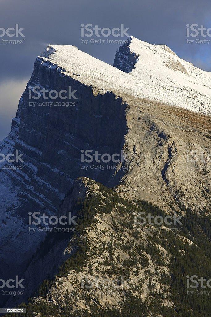 Mt Rundle stock photo