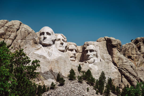 mt rushmore in South dakota – Foto