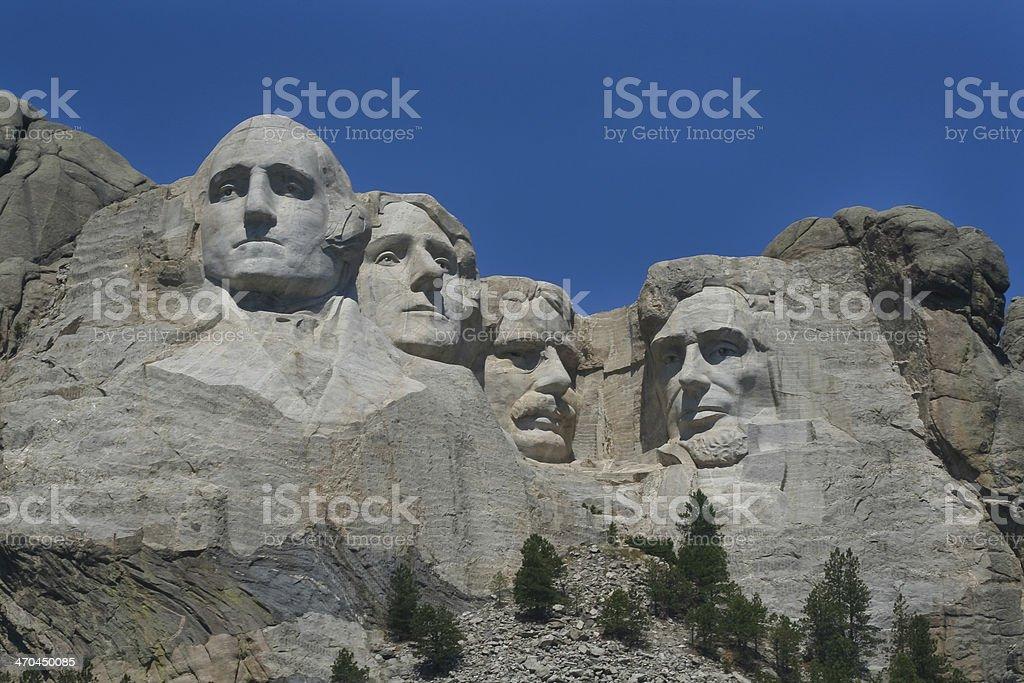 Mt. Rushmore stock photo