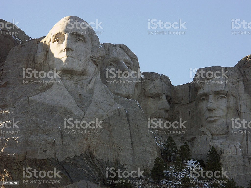 Mt Rushmore royalty-free stock photo