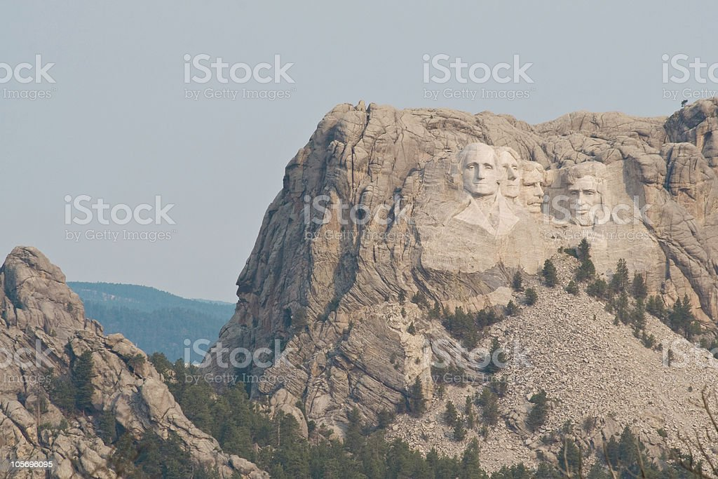 Mt Rushmore South Dakota stock photo