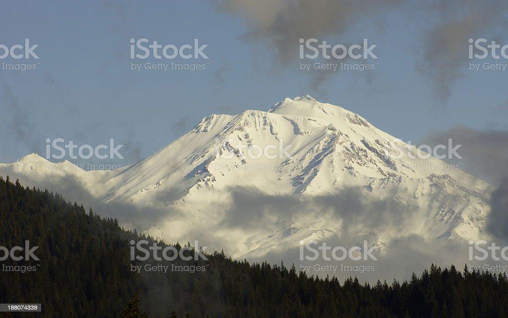 Mt. Shasta Mystic stock photo