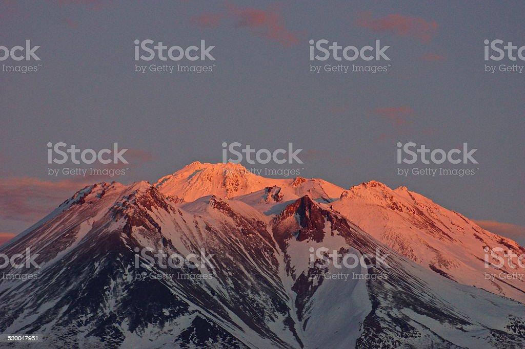 Mt. Shasta Strawberry stock photo