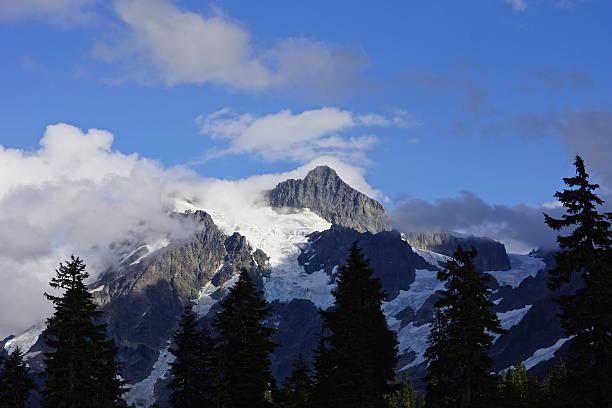 Monte Shuksan Blue Mystic - foto de acervo