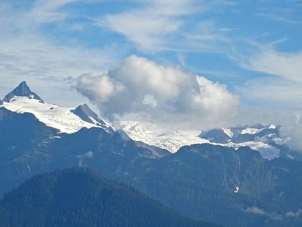 Monte Shuksan Geleira - foto de acervo
