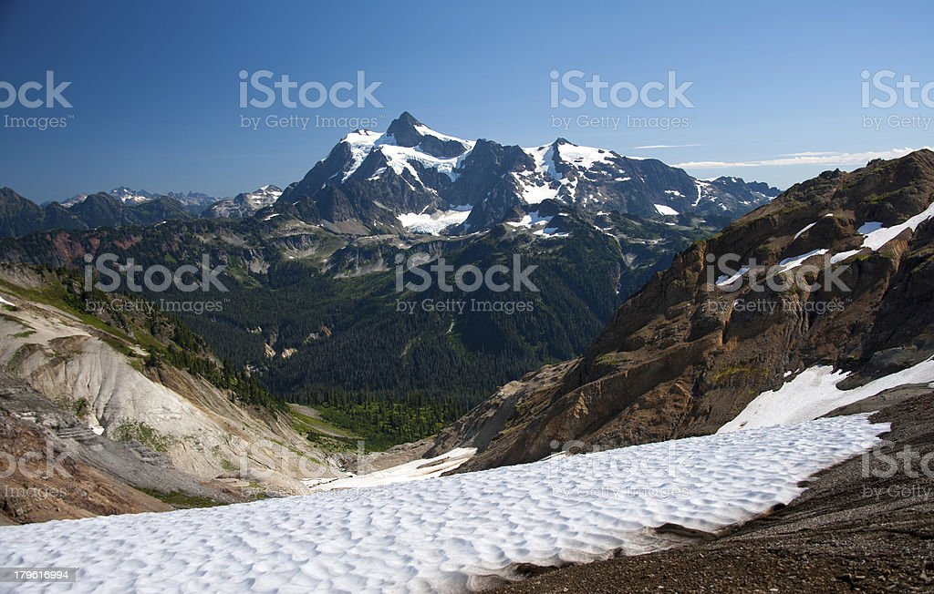 Mt Shuksan royalty-free stock photo
