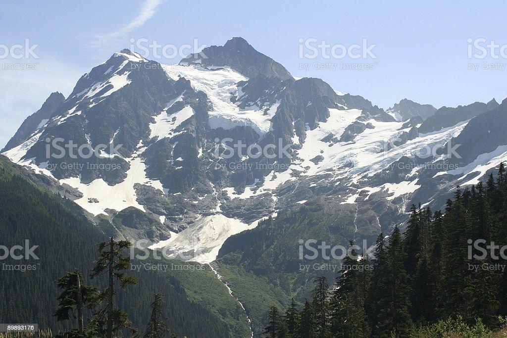 Mt. Shuksan royalty-free stock photo