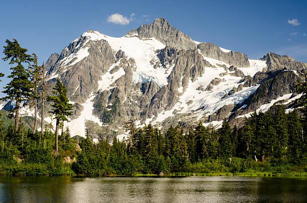 Mont Shuksan, Picture Lake - Photo