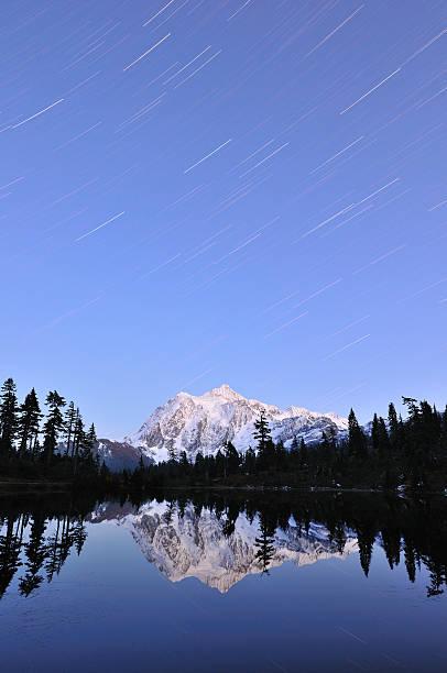 Mont Shuksan nuit étoilée - Photo