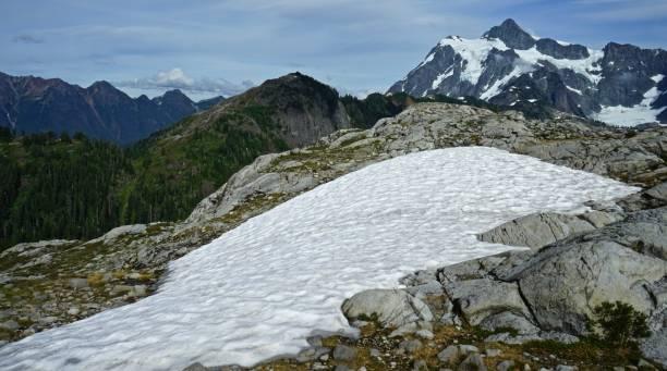 Monte Shuksan Zone - foto de acervo