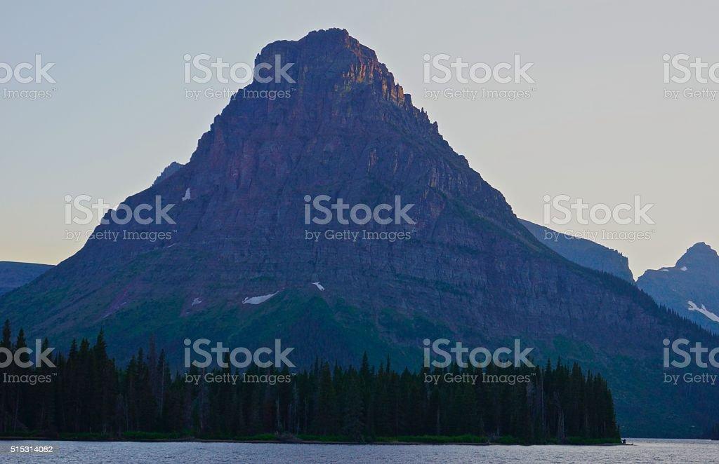 Mt. Sinopah stock photo