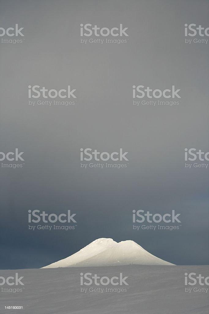 Mt. Städjan stock photo