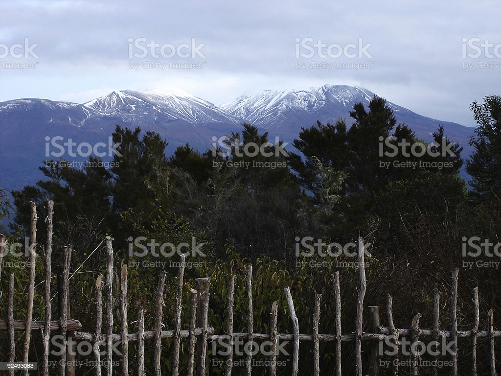 Mt. Tongariro royalty-free stock photo