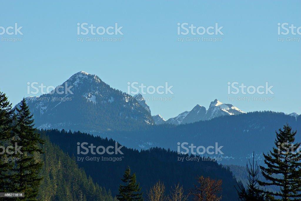 Mt. Triumph Ice stock photo