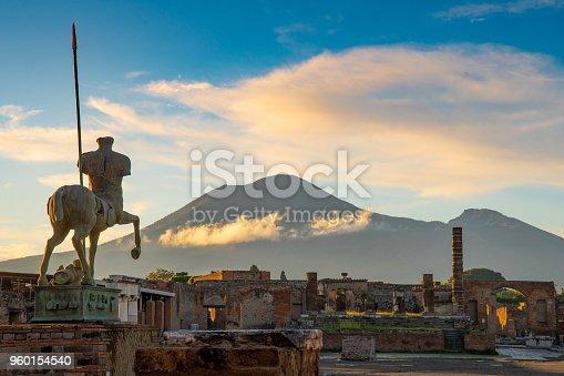Mt. Vesuvius and Pompeii