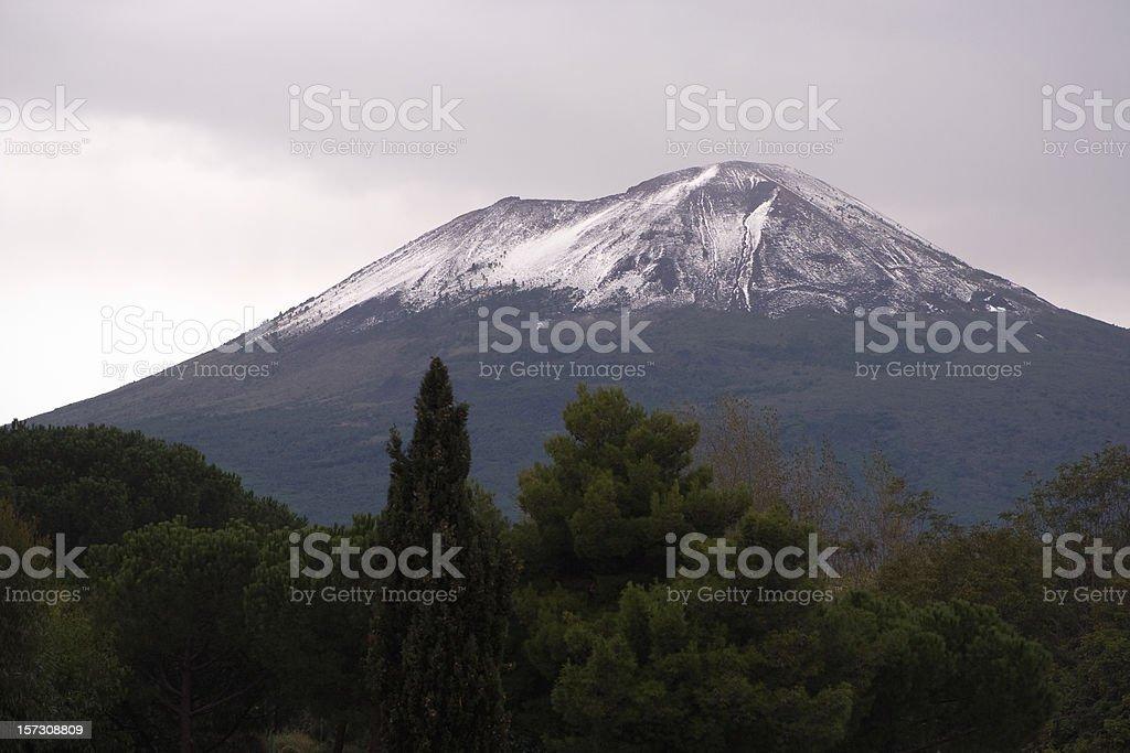 Mt. Vesuvius stock photo