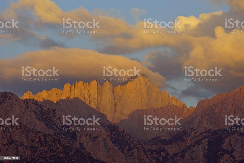Mt. Whitney Mystic stock photo