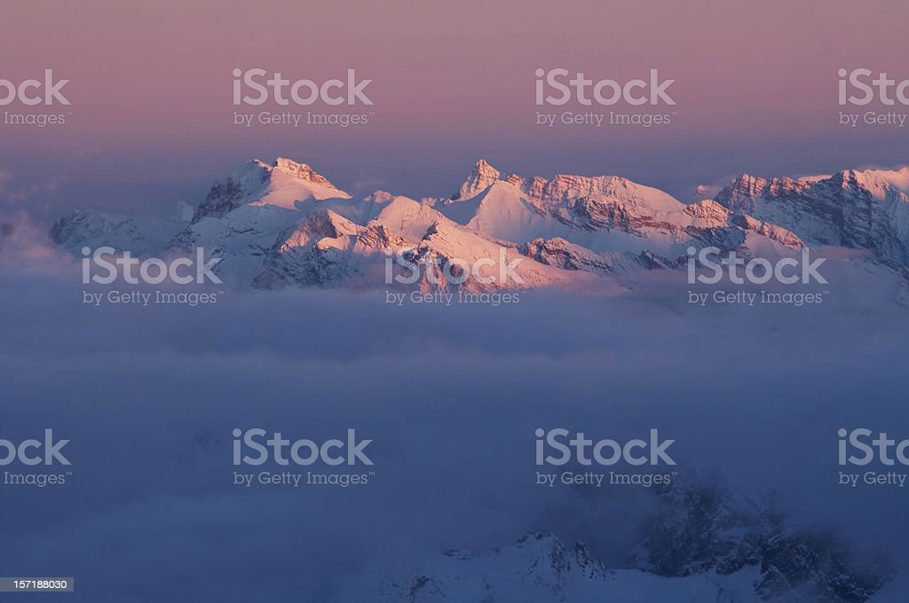 Mt. Zugspitze 5 royalty-free stock photo
