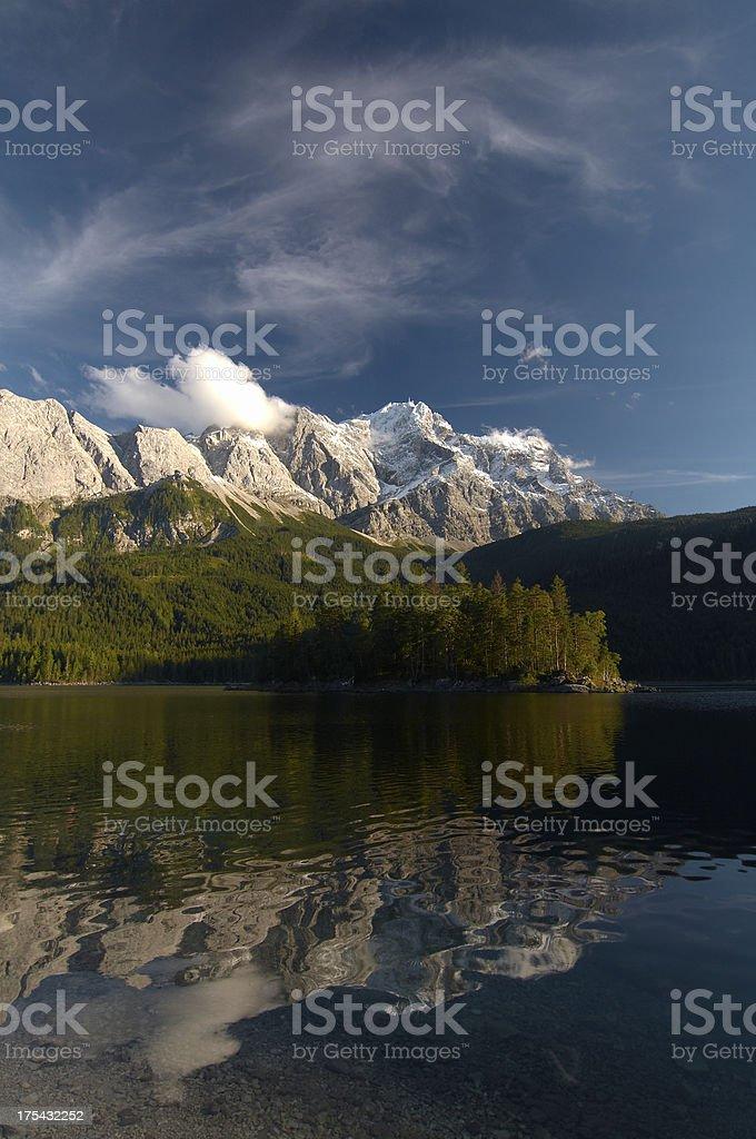mt. Zugspitze - bavaria -germany royalty-free stock photo