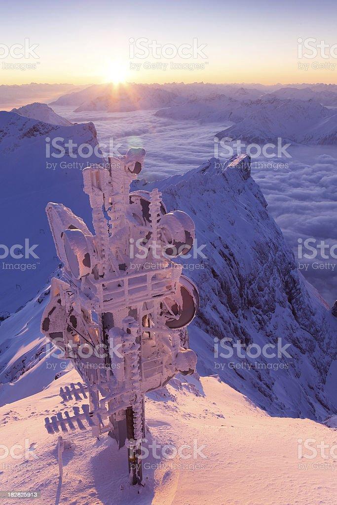 Mt. Zugspitze stock photo