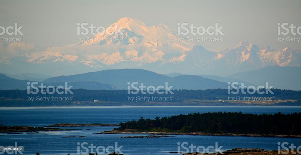 Mt.Baker royalty-free stock photo