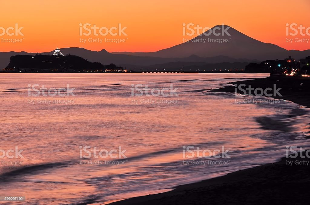 Mt.Fuji royalty-free stock photo