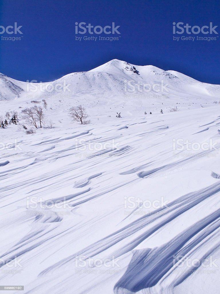 Mt.norikura stock photo
