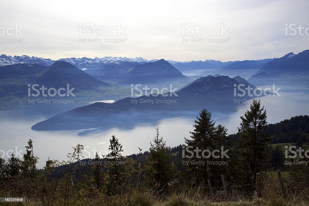 Mt.Rgi royalty-free stock photo