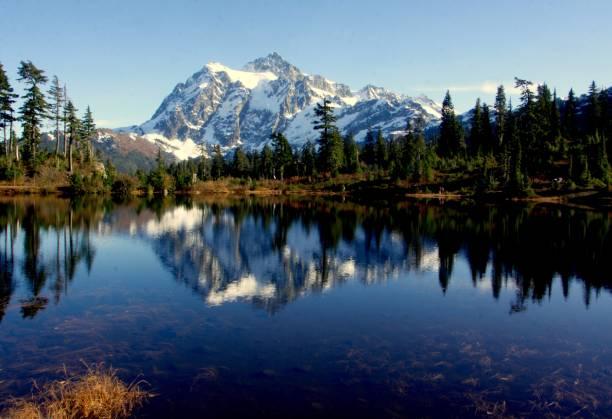Mt.Shuksan - foto de acervo