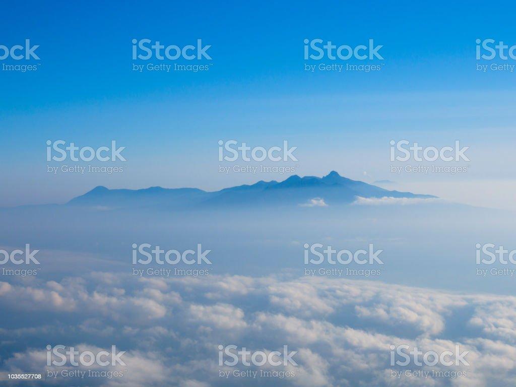 Mt.yatsugatake stock photo