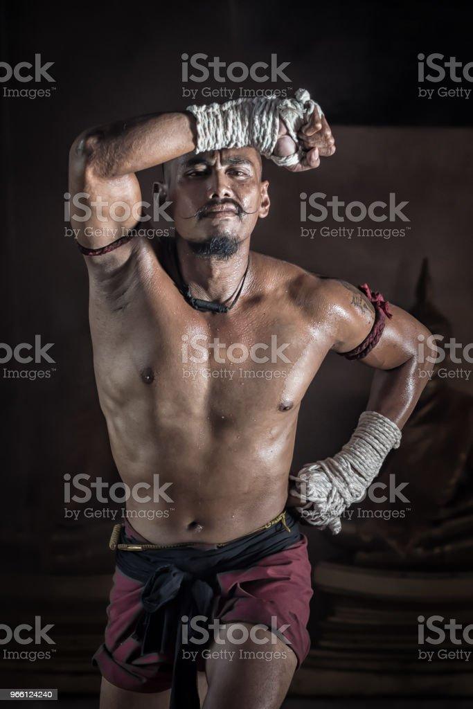 Muay Thai Martial arts - Lizenzfrei Asien Stock-Foto