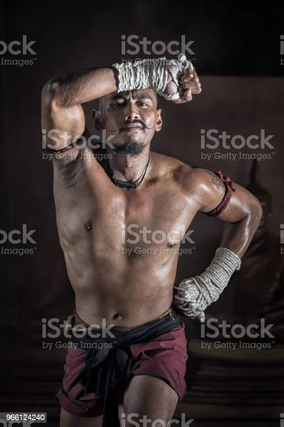 Muay Thai Martial Arts-foton och fler bilder på Asien