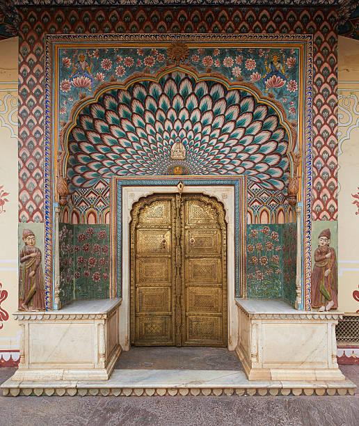 Cтоковое фото Mubarak Mahal in Jaipur City Palace, Rajasthan, India.