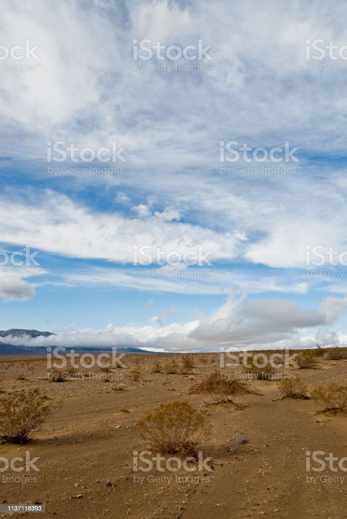 Panamint Valley stock photo