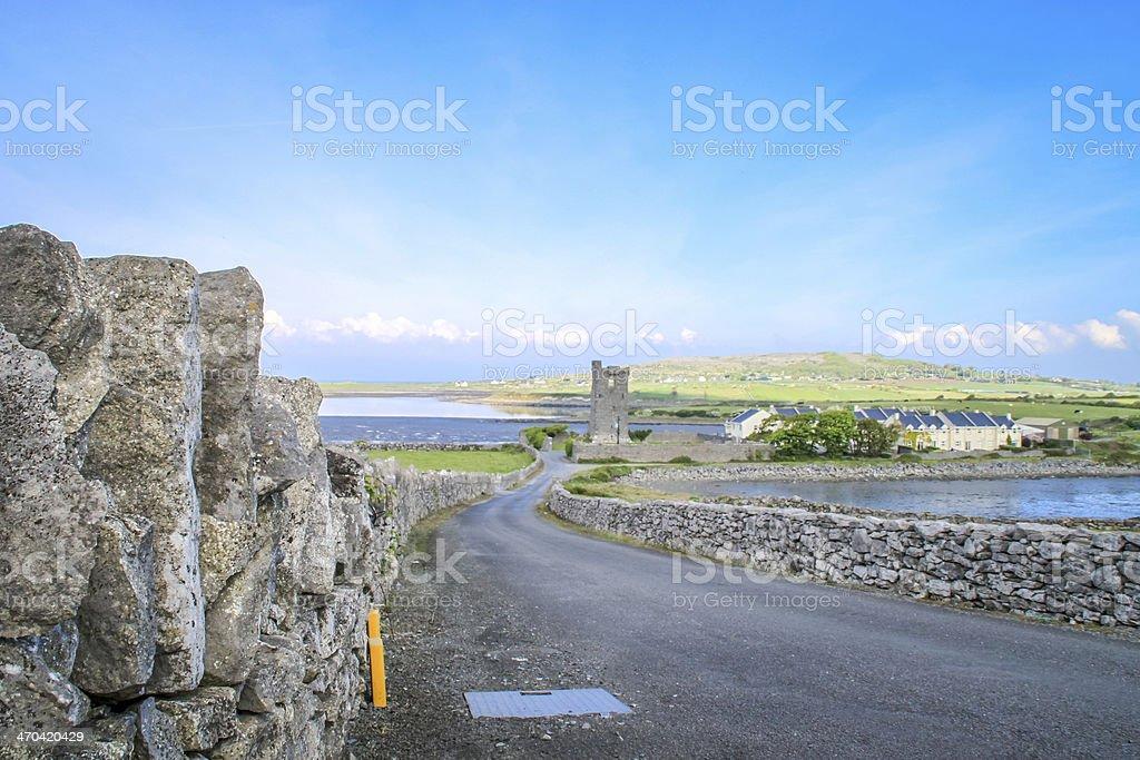 Muckinish Castle, Ireland royalty-free stock photo