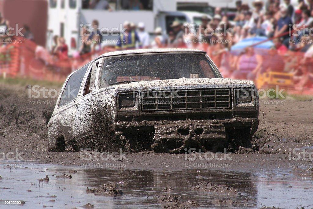 Mud Bogging stock photo