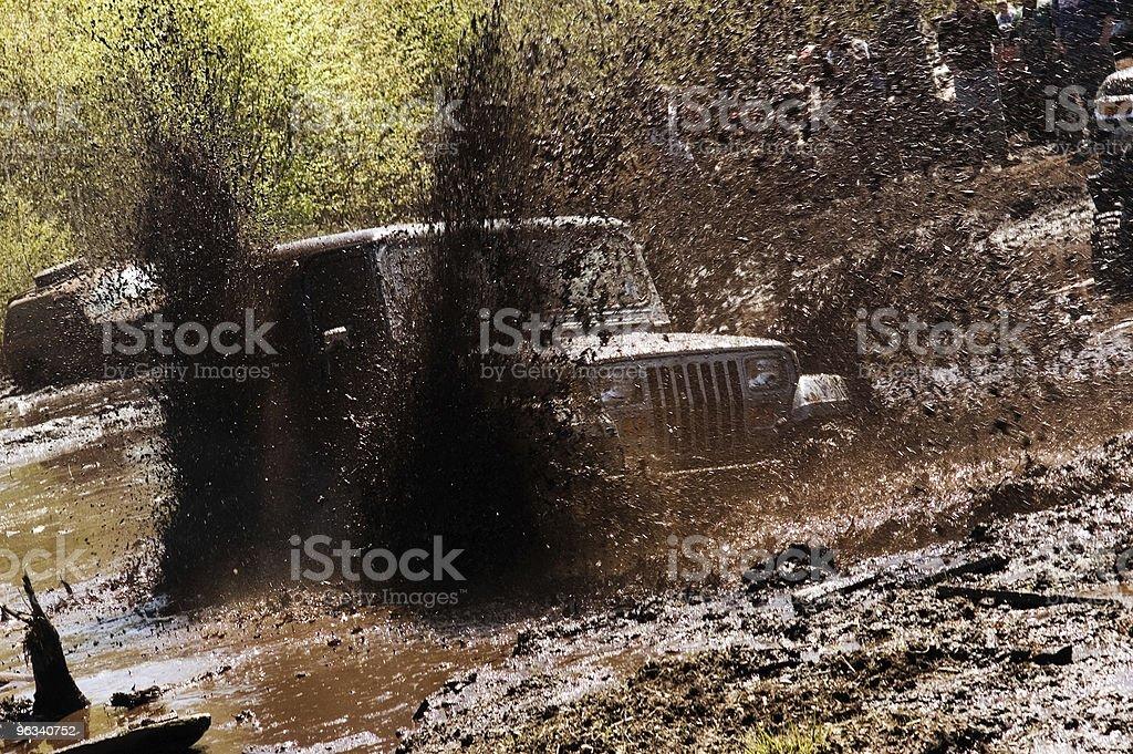 Mud Bogging royalty-free stock photo