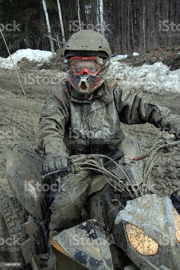Mud Man 2 royalty-free stock photo
