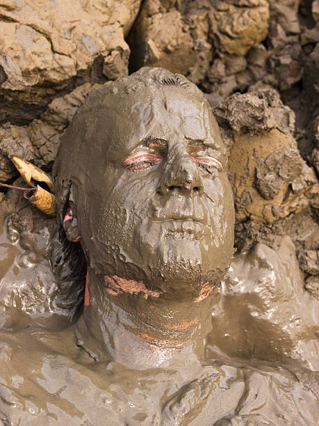 mud-man-picture-id185318786