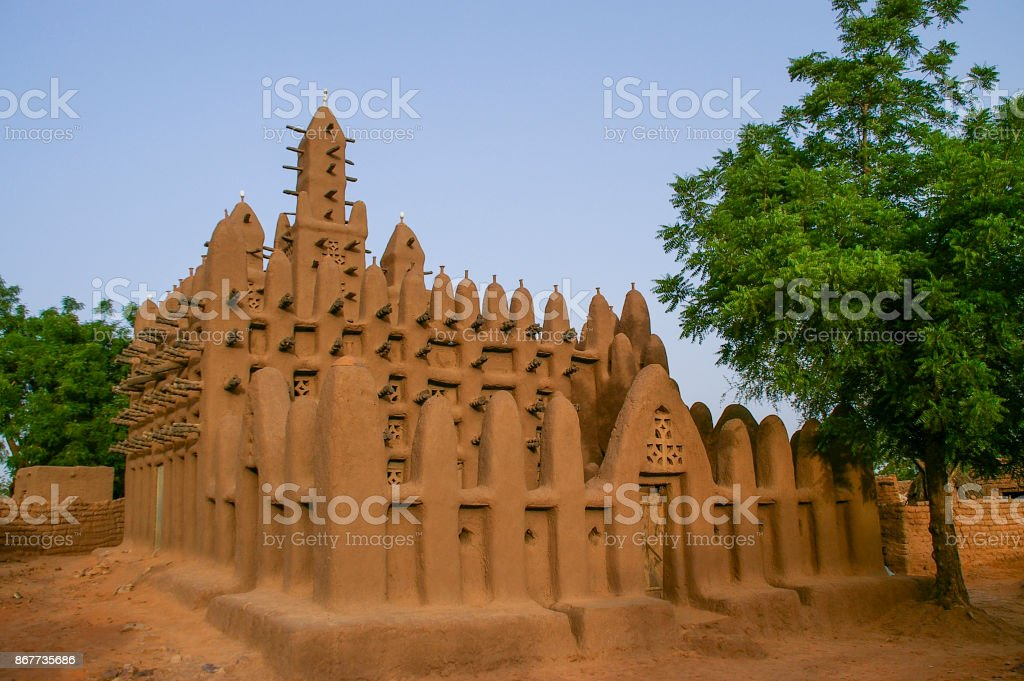 Mud Mosque In Teli Village Dogon Country Bandiagara Mali July 2009 Stock Photo Download Image Now Istock